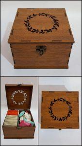 جعبه چوبی نیوشا