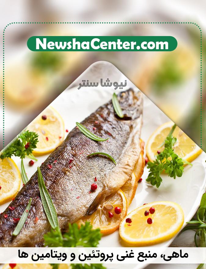 ماهی، منبع غنی پروتئین و ویتامین ها