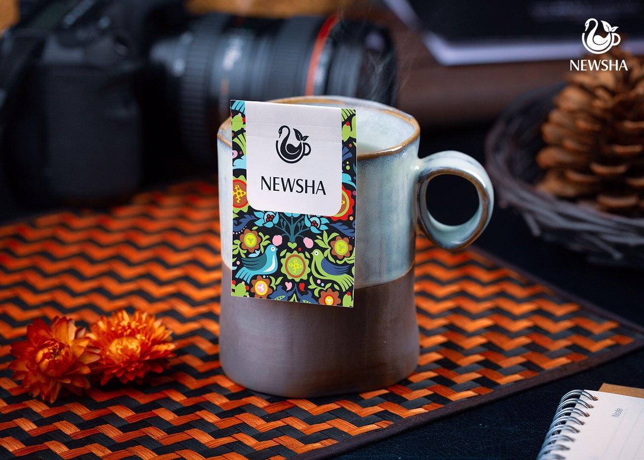 تی بگ چای و دمنوش با برند اختصاصی