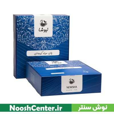 چای سیاه سی تی سی کیسه ای 100 عددی نیوشا (بدون لفاف)